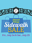 Annual Village Sidewalk Sale Produced by the Grosse Pointe Village Downtown Development Authority