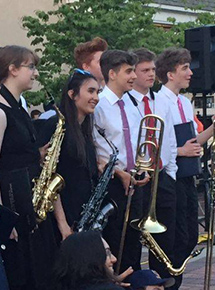 Music on the Plaza Presents GP North and South High Jazz Bands