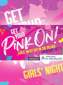 Get Your Pink On! Girls Night Out in The Village