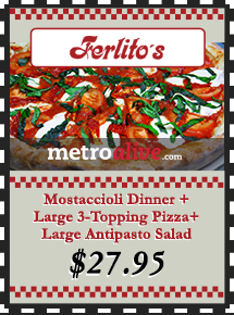 MetroDeal: Pasta, Pizza and Salad for $27.95