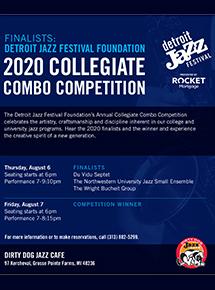 2020 Collegiate Combo Competition