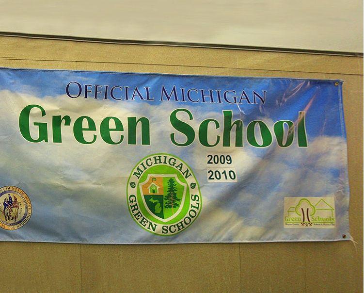 An Official Michigan Green School