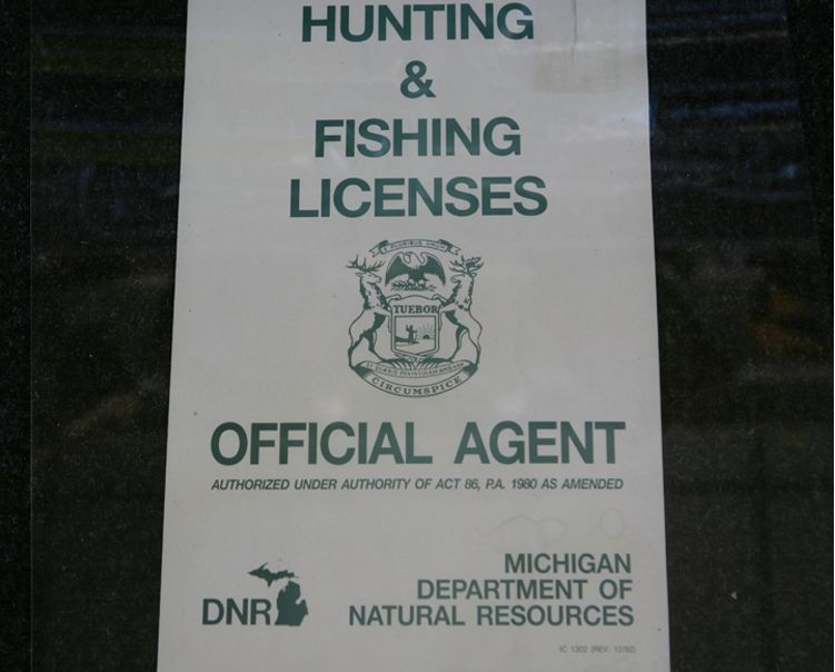 Boyne co op tackle box photo gallery for Fishing license michigan