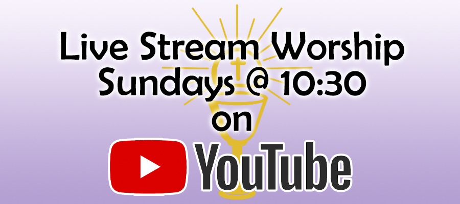 Live Stream Worship on YouTube